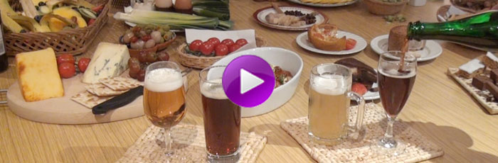 Beer and food matching