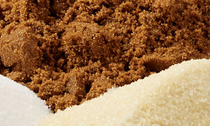 Reducing sugar with extruded flour