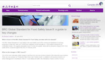 BRC Global Standard for Food Safety Issue 8 - Campden BRI