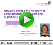 Cereal quality webinar
